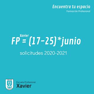 FP VALENCIA CURSO 2020 2021 CICLOS FORMATIVOS GRADO MEDIO Y SUPERIOR