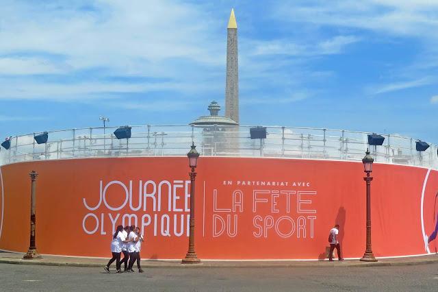 Preparing for 2024 - Place de la Concorde