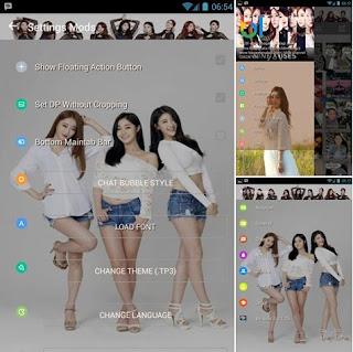 BBM Mod Tema 9 Muses V3.0.1.25 Apk