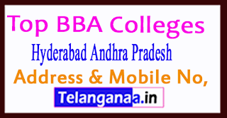 Top BBA Colleges in Hyderabad Andhra Pradesh