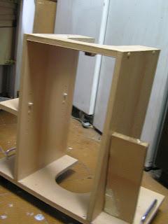 Armario y mueble lavadora en terraza bricolaje for Mueble lavadora ikea