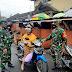 TNI Ajak Pengunjung  Pasar Patuhi Prokes