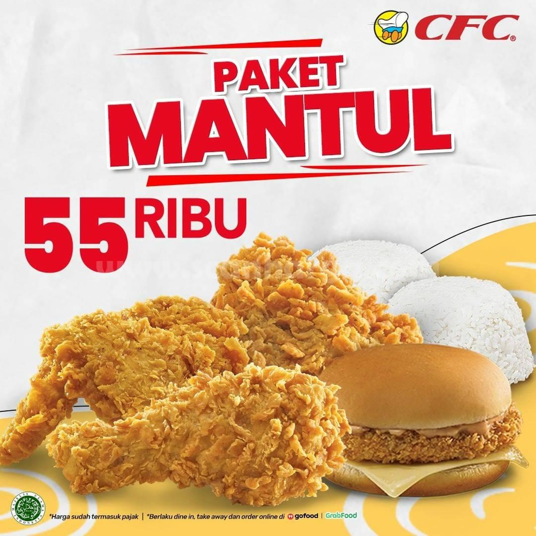 CFC Promo PAKET MANTUL Harga hanya Rp 55 RIBU