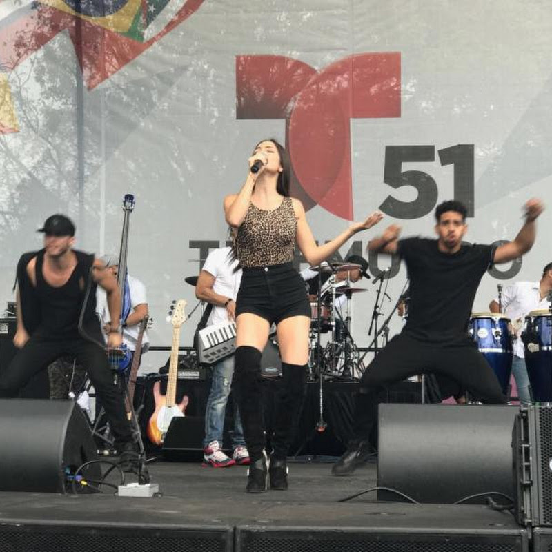 Exitosa presentación de Natti Natasha en el Festival de Calle 8