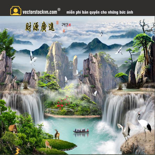 Tranh Phong cảnh thiên nhiên