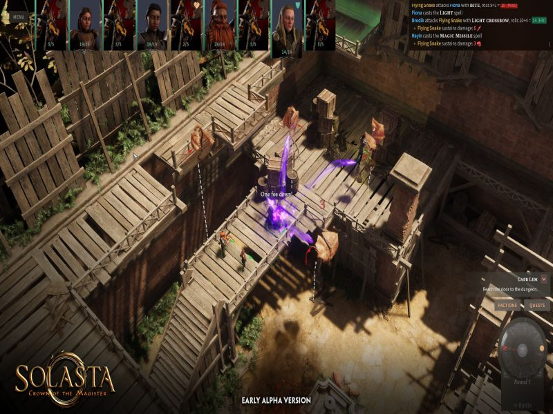 Solasta Crown of the Magister PC Game Free Download