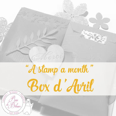 "A Stamp A Month - La Box d'Avril "" Une hirondelle fait le printemps"""