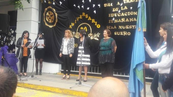 La Escuela Secundaria 5 de Parque San Martín festejo sus 30 años