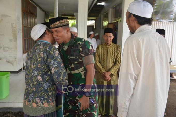 Pesantren Al Wafa Tempurejo,Dandim 0824  Sirahturahmi Prongram Kegiatan Dan Jaga Jember Kondusif