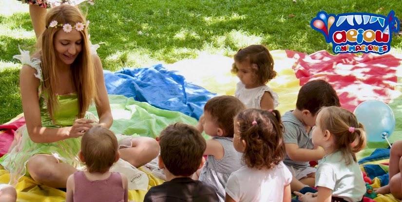 Animación infantil al aire libre