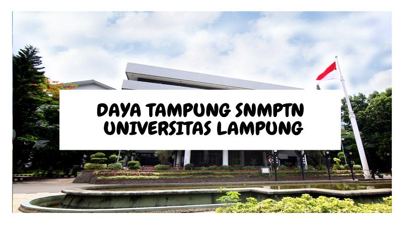 Daya Tampung SNMPTN UNILA 2022/2023 (Universitas Lampung)