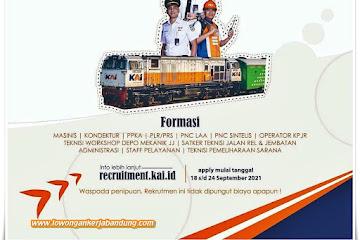 Lowongan Kerja Karyawan PT Kereta Api Indonesia