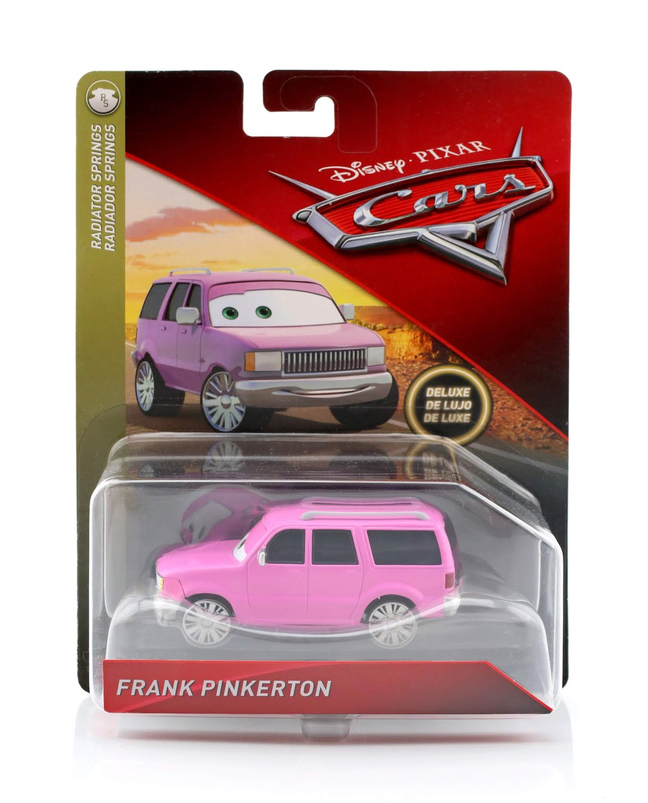 cars mattel frank pinkerton diecast review