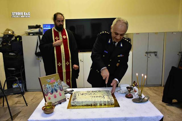 Έκοψε την Πρωτοχρονιάτικη πίτα της η Πυροσβεστική Υπηρεσία Ναυπλίου (βίντεο)