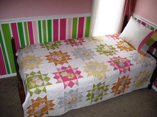 Sunkissed By Spring Quilt Free Tutorial