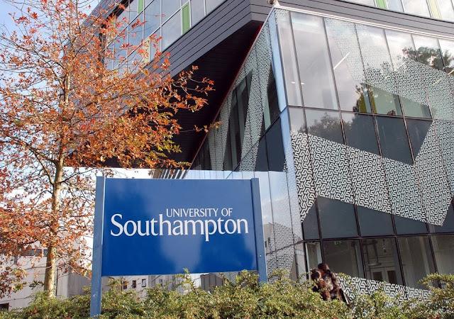 منحة لدراسة الماجستير في جامعة ساوثهامبتون في المملكة المتحدة (ممولة بالكامل ) براتب 15.009 جنيه إسترليني سنويًا وامتيازات اخرى