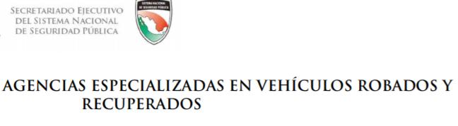 Coahuila Repuve coches con reporte de robo