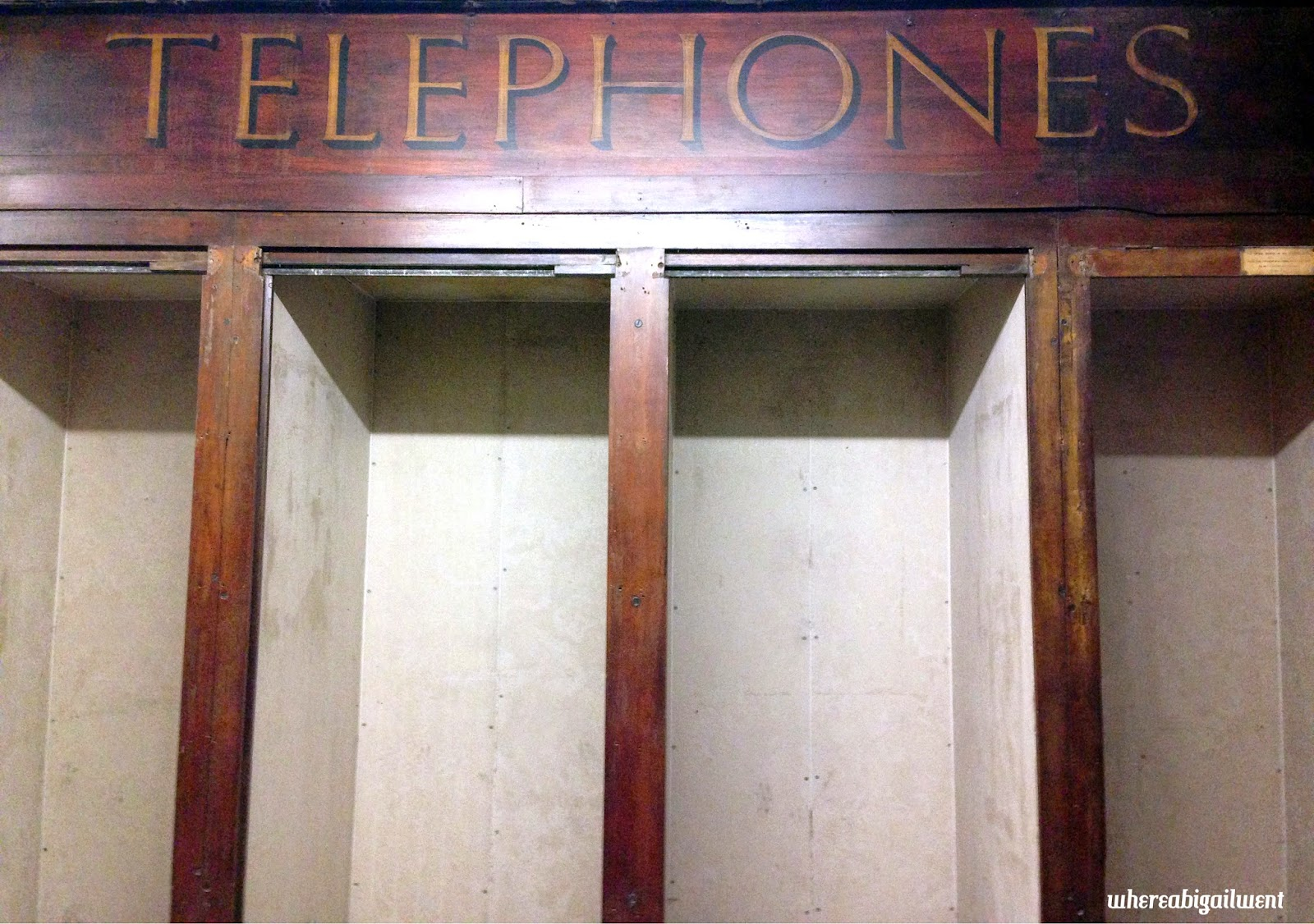 Old Telephone Booths