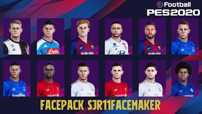 PES 2020 Facepack by Sjr11facemaker