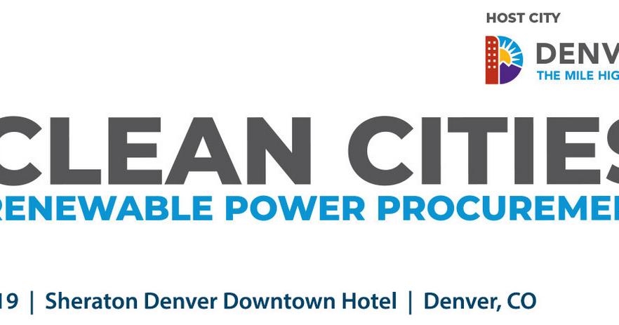 Event - Clean Cities Renewable Energy Procurement