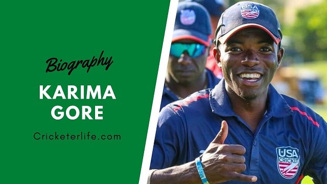 Karima Gore cricketer Profile, age, height, stats, wife, etc.
