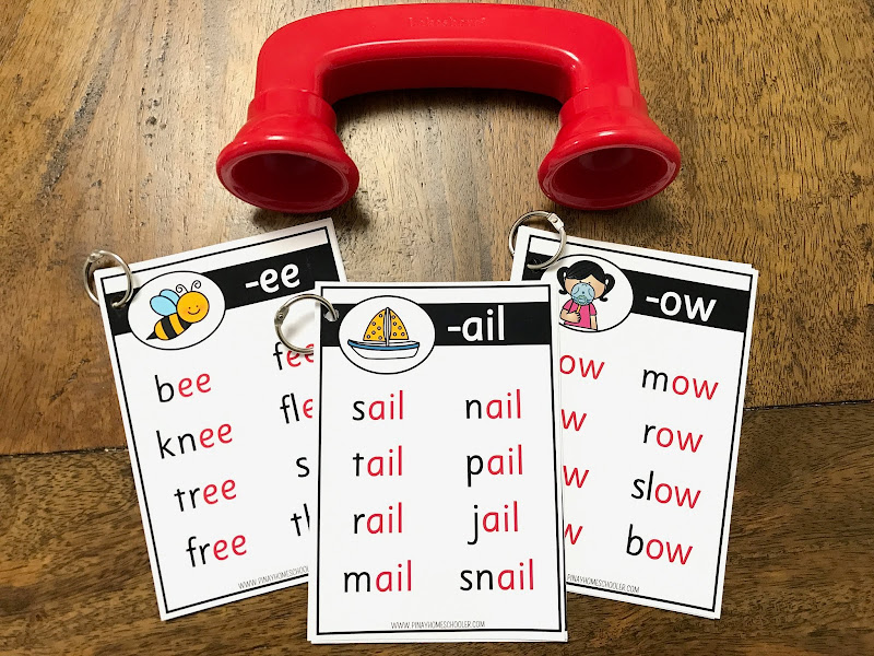 FREE Long Vowel Word Family Lists
