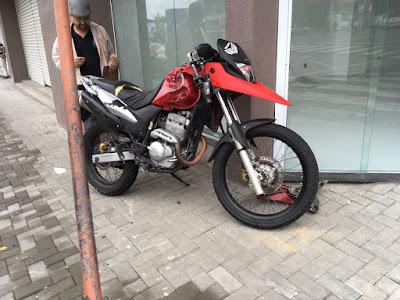 Motociclista morre em acidente no Centro de Registro-SP