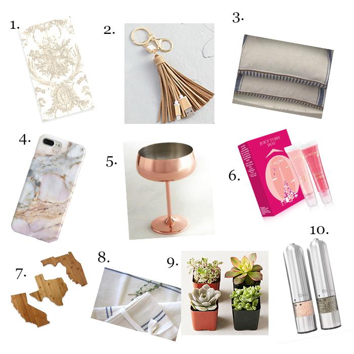 20 Hostess Gift Ideas For Christmas - Under $20 -shabbyfufublog.com