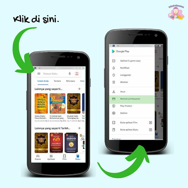 pembayaran di google play