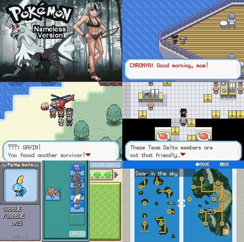 Pokemon Nameless GBA ROM Hack Download