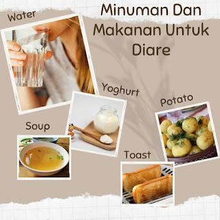 makanan untuk diare