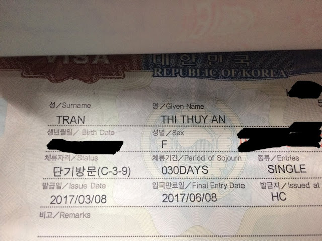 HƯỚNG DẪN CHI TIẾT TỰ TÚC XIN VISA DU LỊCH HÀN QUỐC và THẺ VIP SHIHANBANK