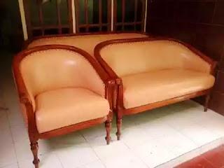 ganti kain kursi sofa kayu di bekasi