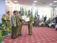 Serahkan DIPA TA 2019 Gubernur Ridho Tekankan Pada Pembangunan SDM