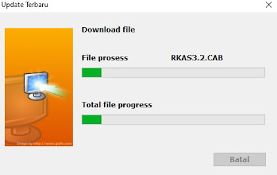 Update ARKAS Versi 3.2 Solusi Gagal Update ARKAS 3.2