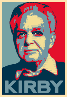 Jack Kirby Portrait - by Russell Payne