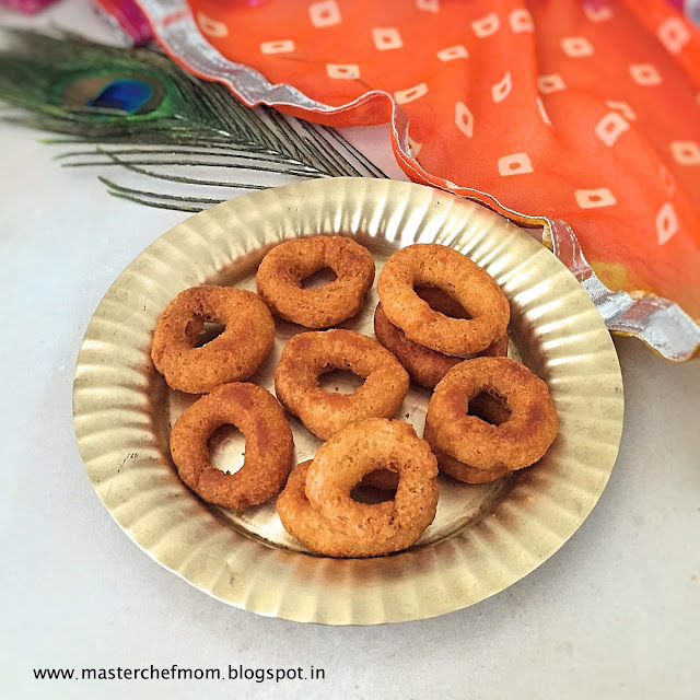 Ring Murukku | Instant Ring Murukku Recipe