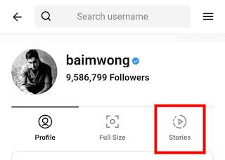 Cara menyimpan story Instagram orang 3
