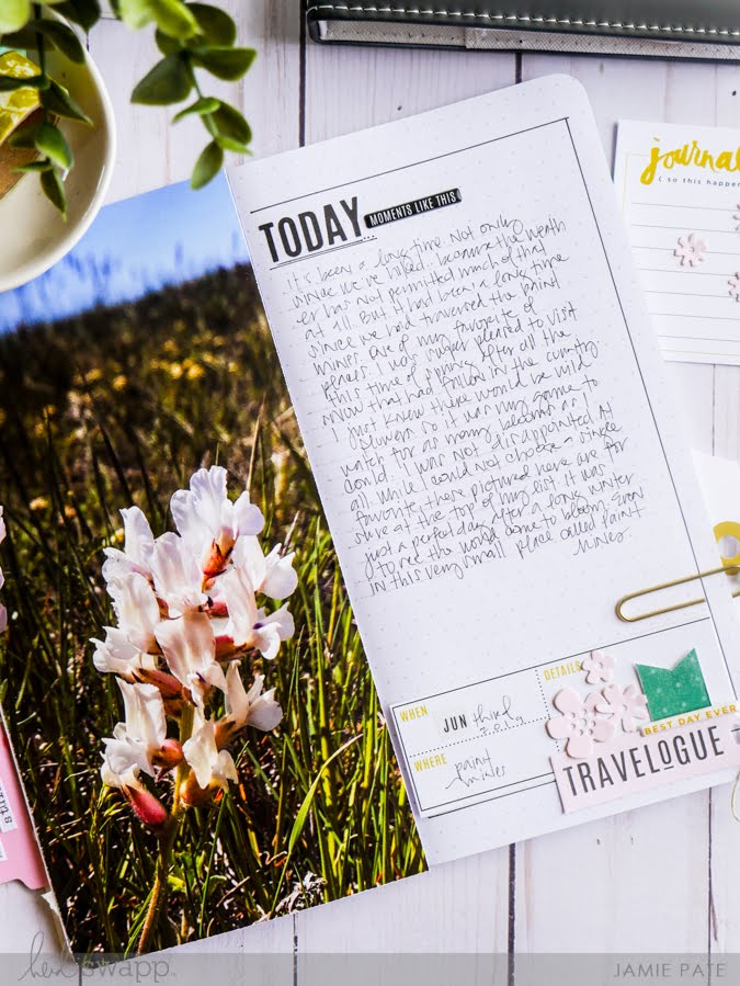 Why You Should Start a Journal using Heidi Swapp Journal Studio by Jamie Pate | @jamiepate for @heidiswapp