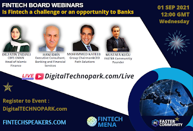 1st September Our new Event : Fintech BOARD Series ( Is Fintech a challenge or an opportunity to Banks )