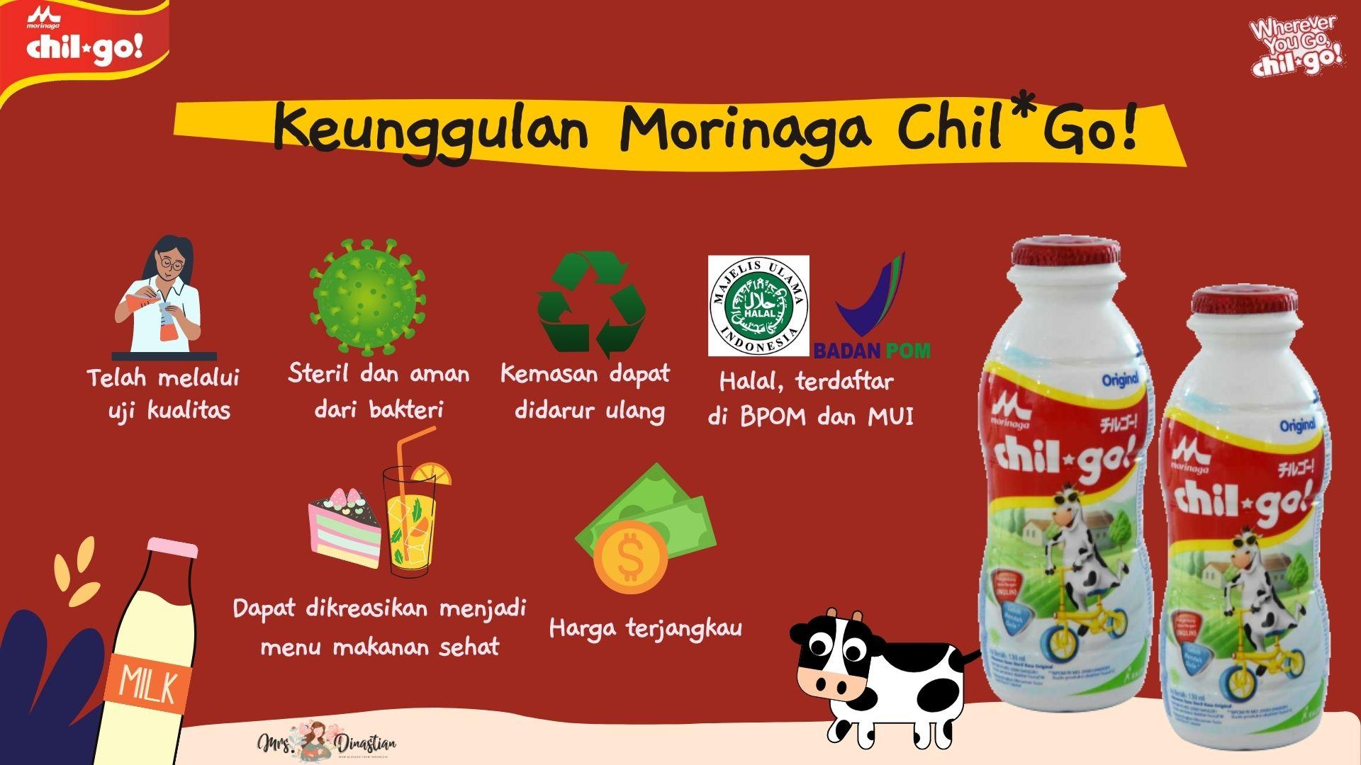 Keunggulan Morinaga Chil*Go!