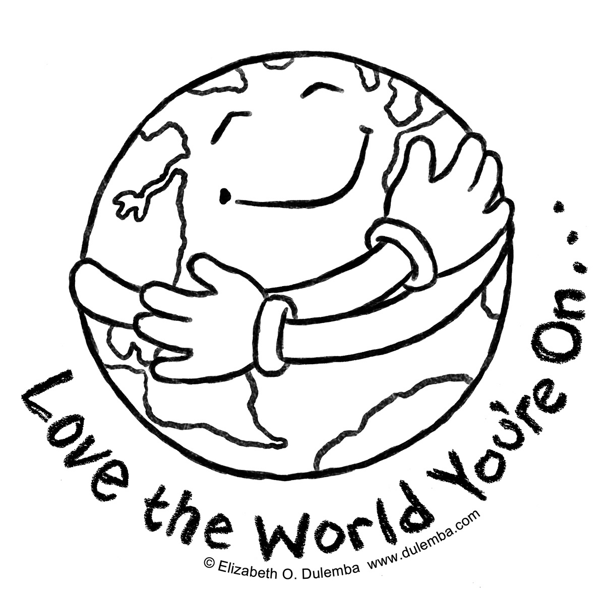 Early Play Templates Earth Day Colouring In Sheets
