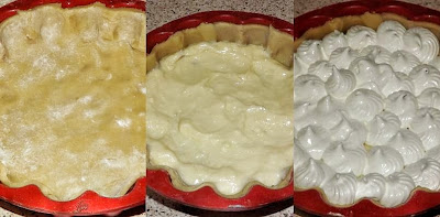 Meringata al limone o lemon meringue pie i passaggi della torta
