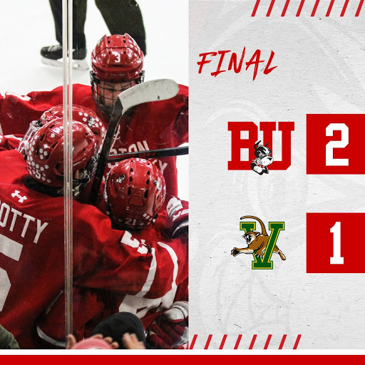 Terriers rally for 2-1 win, sweep Vermont