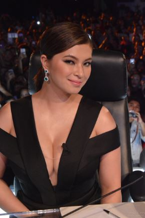 Angel Locsin Was Smoking Hot In The Sexy Black Dress She Wore On The Finale Of PGT