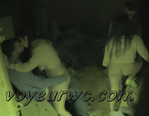 Couple Having Sex in Public on Street Hidden Cam (Galician Night Sex 182-183)