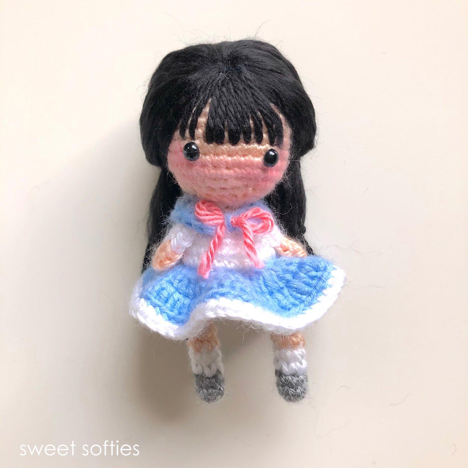 6 Chibi Doll Base Amigurumi Crochet Pattern for Custom | Etsy | 1600x1600