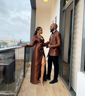 Banky Wellington share stunning picture with his wife