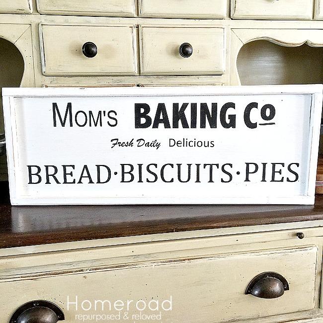 Mom's Farmhouse Baking Company Sign Request