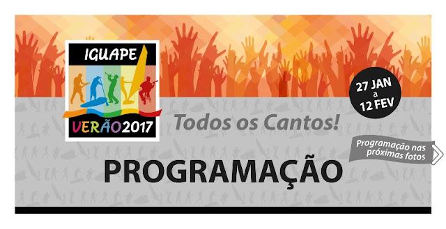Programação Iguape Verão 2017